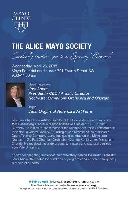 Past Events - The Alice Mayo Society